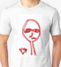 """""""This Human vs All Other Humans"""" by Richard F. Yates T-Shirt"""