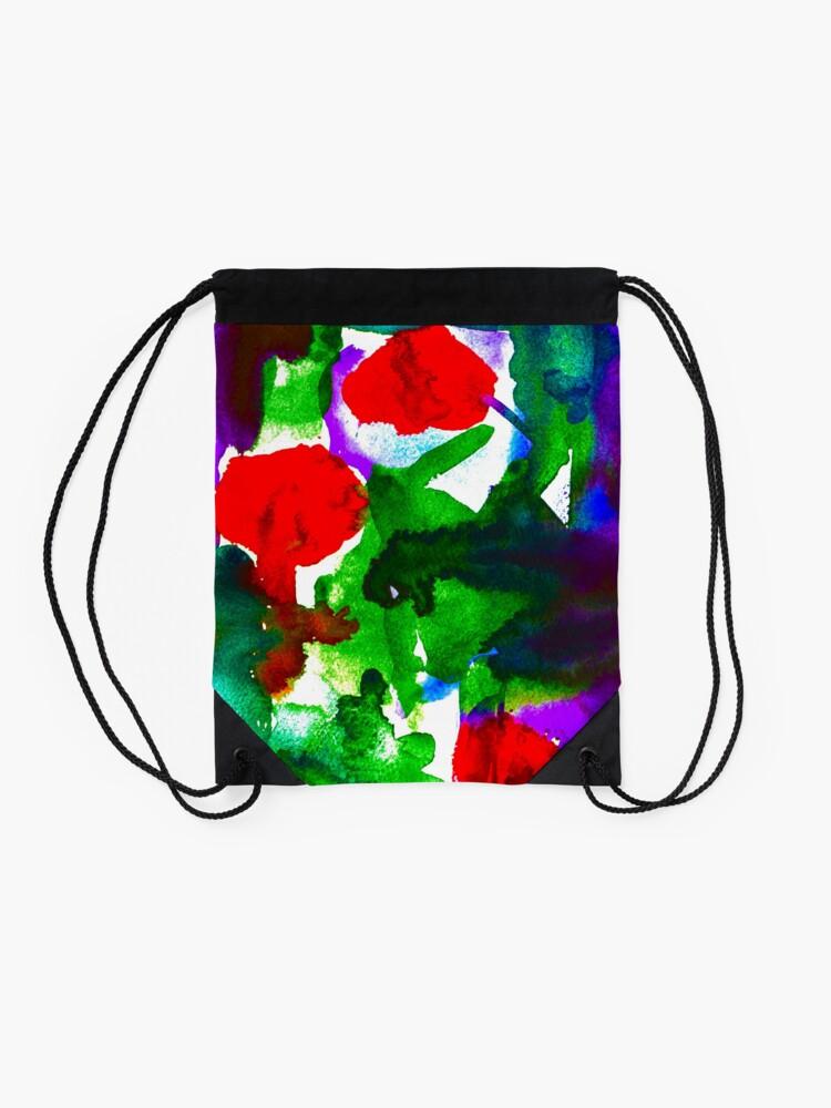 Alternate view of BAANTAL / Pollinate / Evolution #2 Drawstring Bag
