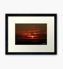 Sunset  Stoer  Framed Print