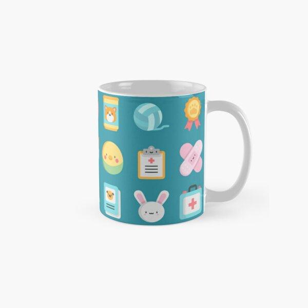 CUTE VET / VETERINARIAN PATTERN Classic Mug
