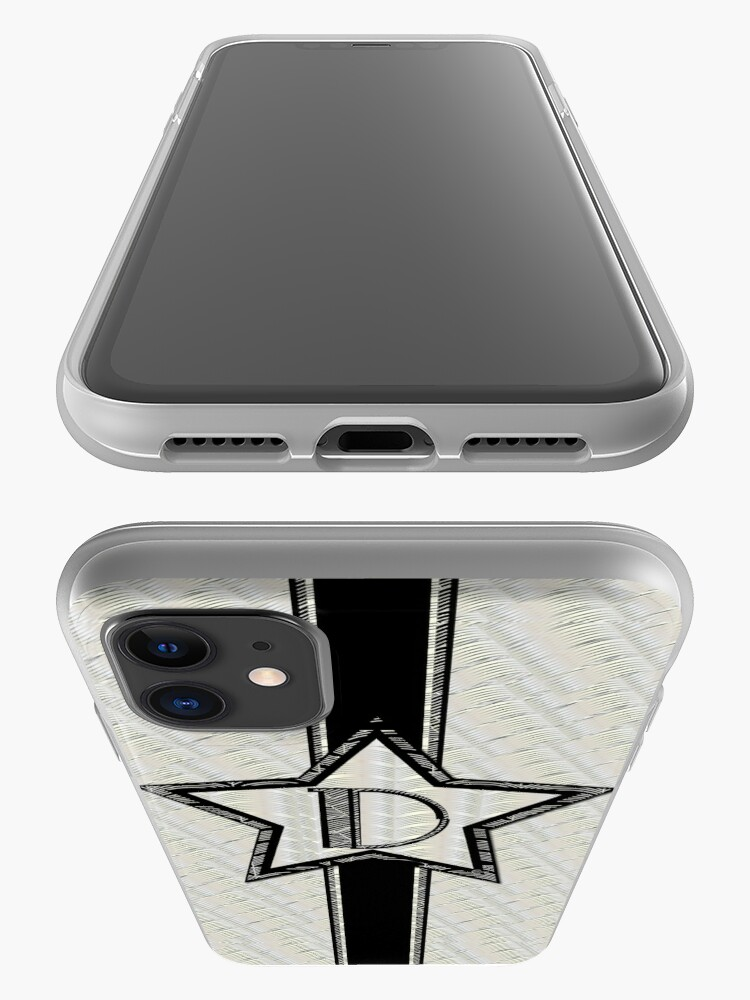 Alternate view of Star of the Show Art Deco Monogram D iPhone Case & Cover