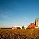 Sunrise at the Farm by Rob Smith