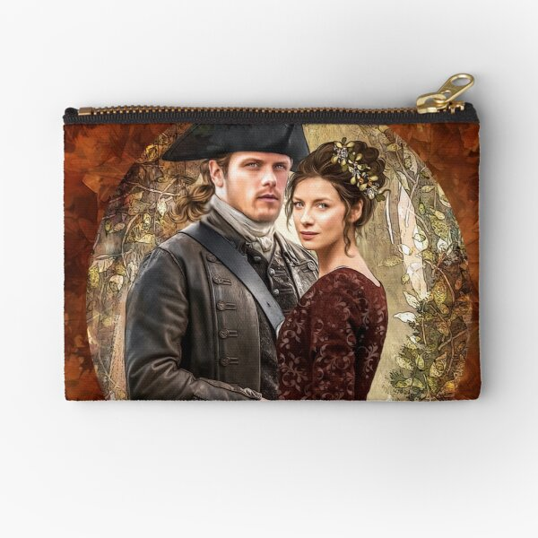 autumn ... nest of leaves for lovers Zipper Pouch