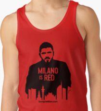 Gennaro Gattuso - Milano is Red Tank Top