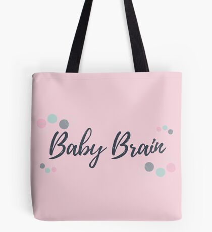 Baby Brain Tote Bag
