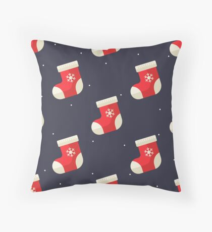 Christmas Throw Pillows By Createdproto Redbubble