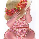 Little Flower Girl by Karen  Hull