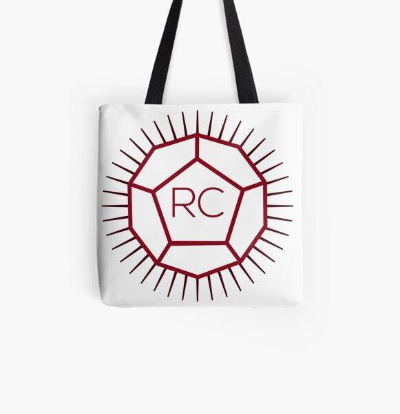 Logo Rolero Casual All Over Print Tote Bag