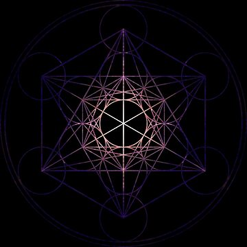 Metatron's Cube (Star Seed) Sacred Geometry High Resolution by SirDouglasFresh
