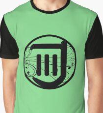 32659024d FFXIV Windbite Bard Job Logo (Green) Graphic T-Shirt