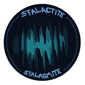 Stalactite vs Stalagmit by zoe-wilson