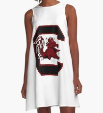 South Carolina Logo A-Line Dress