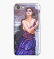 Cassandra on the walls of Troy iPhone Case/Skin