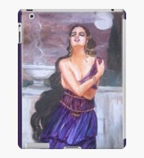 Cassandra on the walls of Troy iPad Case/Skin