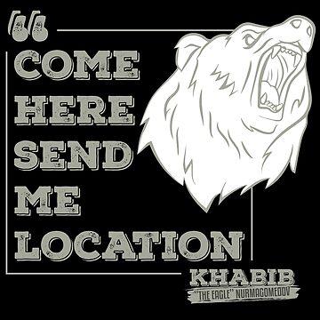 "Khabib ""The Eagle"" Nurmagomedov Bear by bibinik"