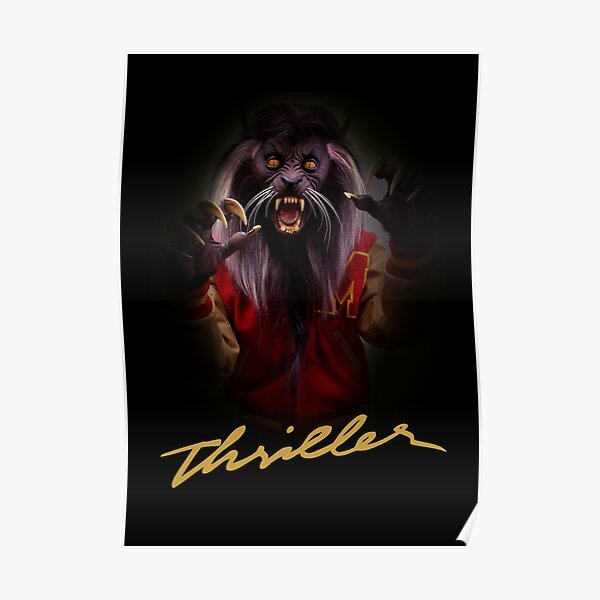Thriller Night Halloween Poster