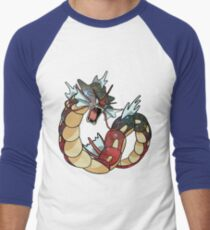 Gyarados - Pokemon Men's Baseball ¾ T-Shirt