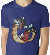 Gyarados - Pokemon Men's V-Neck T-Shirt