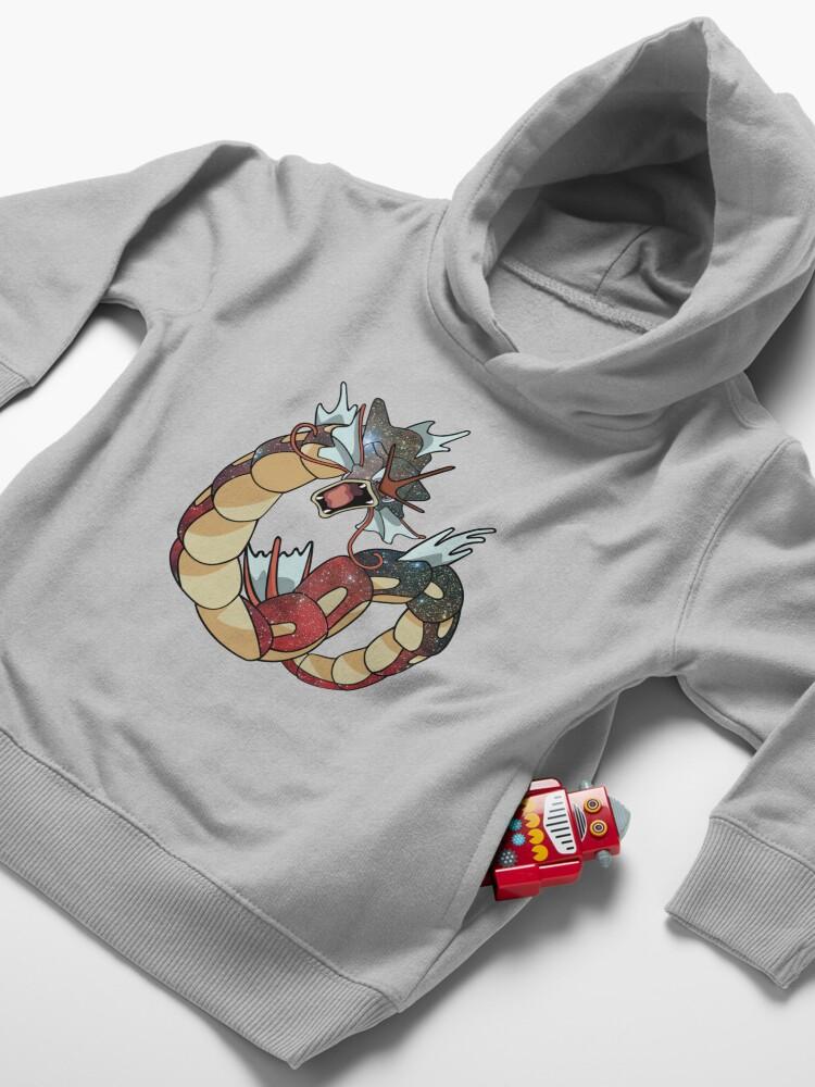 Alternate view of Gyarados - Pokemon Toddler Pullover Hoodie