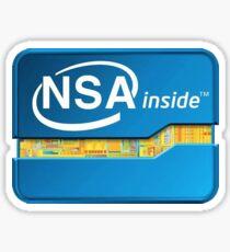NSA Inside Sticker
