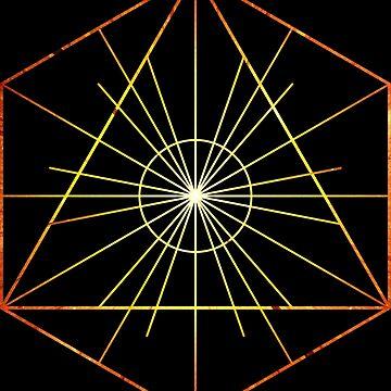 Metatron's Hidden Eye [Enlightening Sunset] by SirDouglasFresh