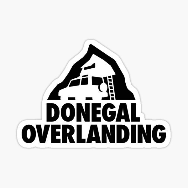 Donegal Overlanding Merchandise Sticker