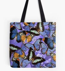 Composition With Echoed Butterflies #5 Tote Bag