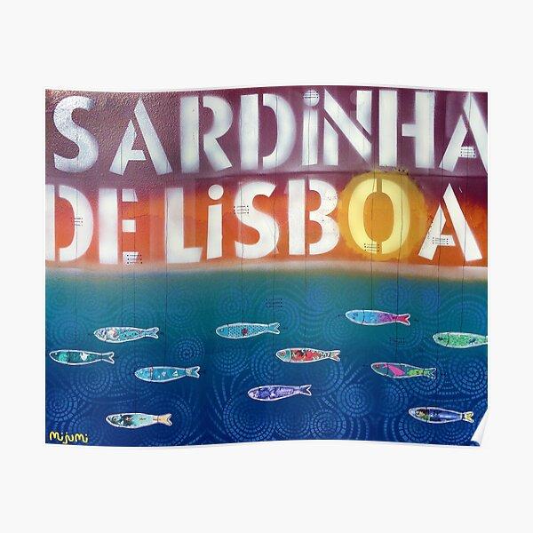 Sardinha de Lisboa Poster