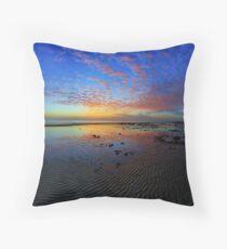 Shorncliffe sunrise Throw Pillow