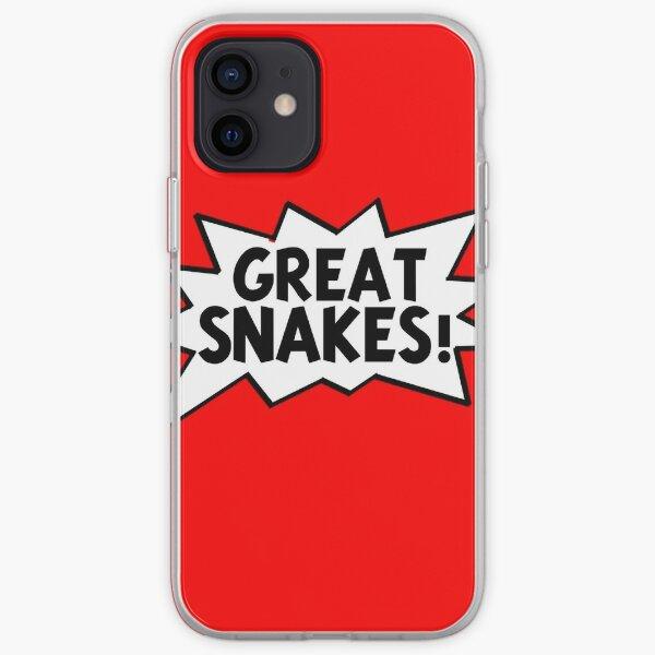 Grands serpents! -Tintin Coque souple iPhone