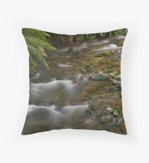 Rainforest creek Throw Pillow