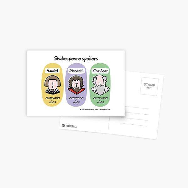 Shakespeare spoilers Postal