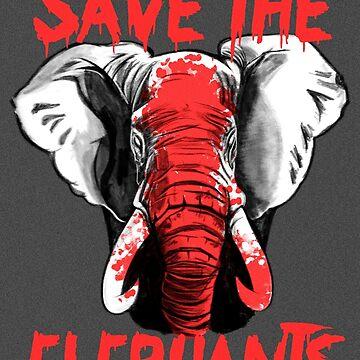 Save The Elephants by MarylinRam18