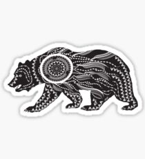 Dream Catcher Bear Sticker
