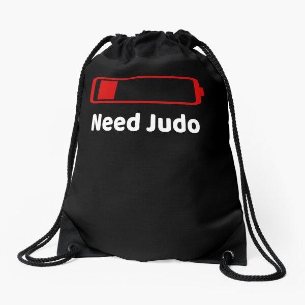 Low Battery Need judo TShirt Activities Hobbies Gift Drawstring Bag