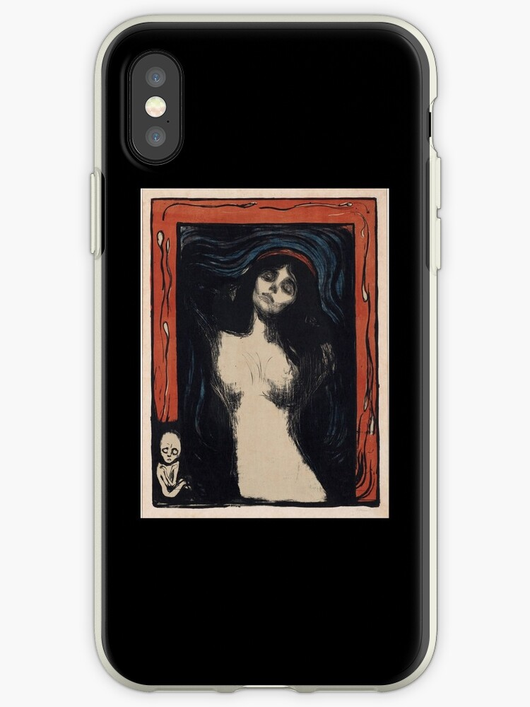 Madonna 2 by Edvard Munch (Reproduction) by Roz Abellera