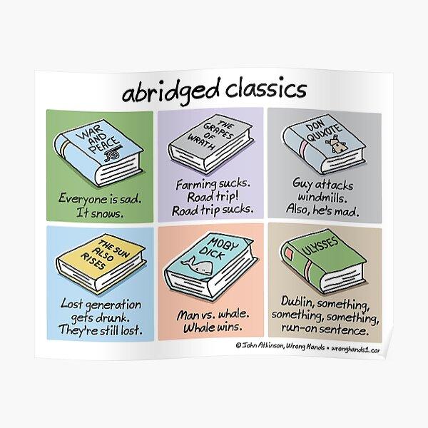 abridged classics Poster