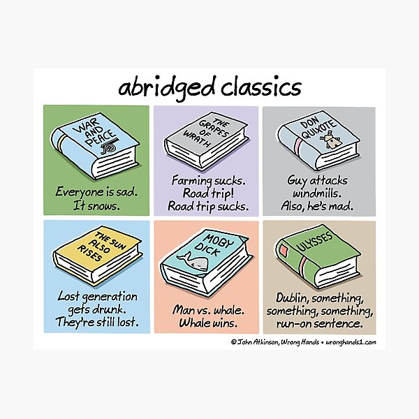 abridged classics Photographic Print