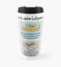 (even more) abridged classics Travel Mug