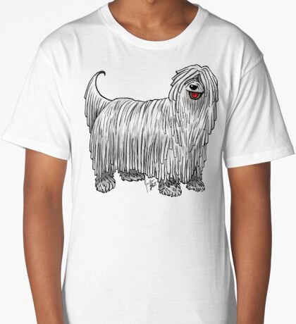 Komondor Long T-Shirt