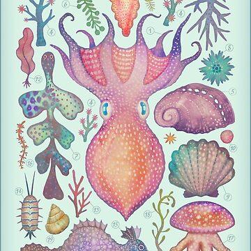 Marine Creatures IV by vladimirsart
