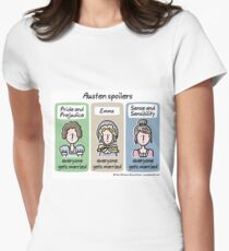 Austen spoilers Fitted T-Shirt