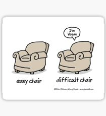 easy chair Sticker