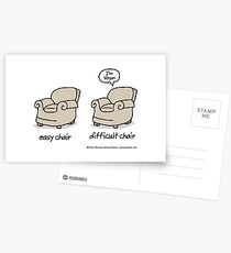 easy chair Postcards