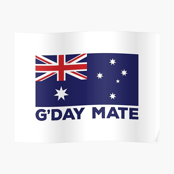 G'Day Mate Poster