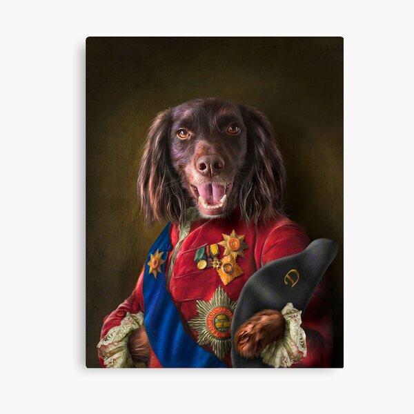 Spaniel Dog Portrait - Dennis Canvas Print