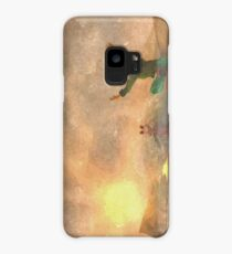 Yoga face to the Sun - 瑜伽面对太阳 Case/Skin for Samsung Galaxy