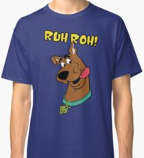 Scooby Doo: Ruh Roh Classic T-Shirt