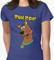 Scooby Doo: Ruh Roh Women's Fitted T-Shirt