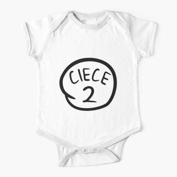Ciece 2 Short Sleeve Baby One-Piece